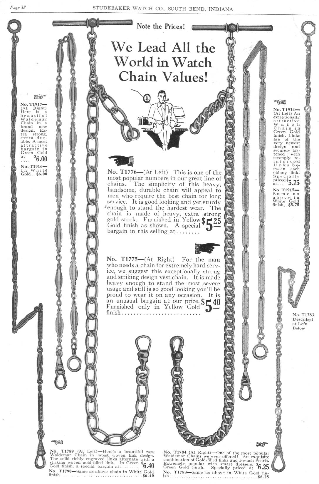 pg 38  we lead all the world in watch chain values